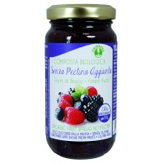 Composta di frutti di bosco senza zucchero e pectina senza glutine