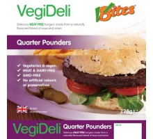 Big burger - meat-free Quarter Pounders