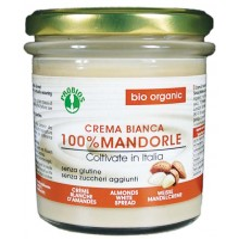 Crema bianca 100% mandorle bio senza glutine
