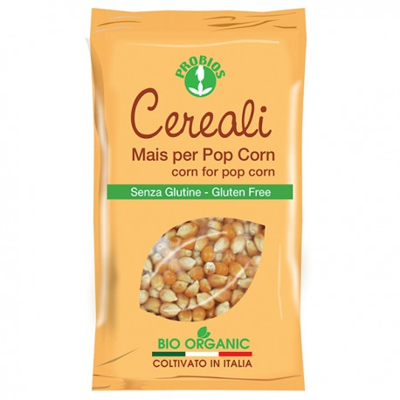 Mais per popcorn bio senza glutine