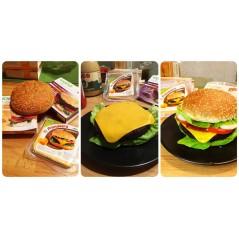 Fette Jeezini Intens - Alternativa al formaggio