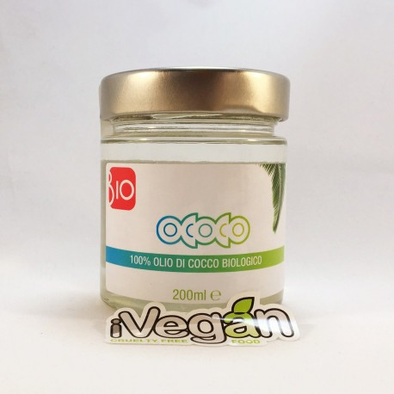 Olio di cocco pregiato Bio ococo 200ml