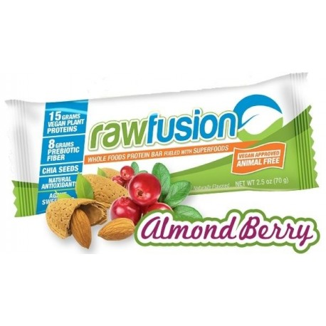 Raw Fusion Almond berry proteica