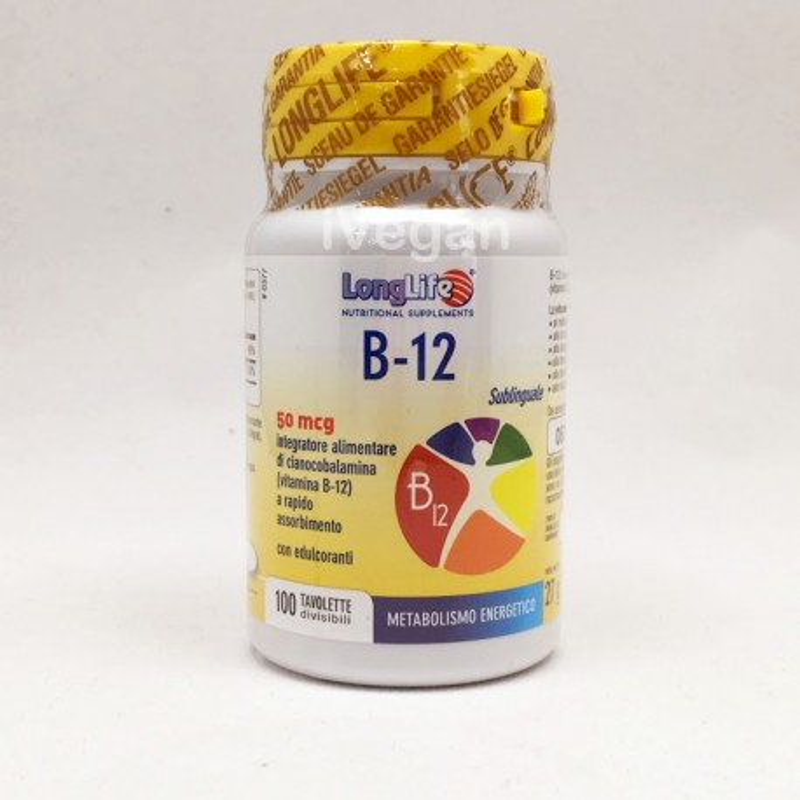 B12 sublinguale - 100 compresse