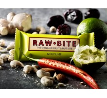 Raw Bite Spicy Lime- barretta cruda