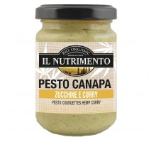 Pesto canapa zucchine e curry Vegan bio