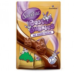 Coniglietti di cioccolato senza zucchero 10pezzi Sweet William