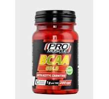 BCAA GOLD Pro Muscle 200 compresse