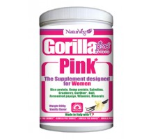 Gorilla PINK vaniglia for women