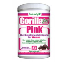Gorilla PINK cacao for women