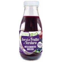 Succo Smoothie Viola Sorsi di frutta mirtillo barbabietola Bio
