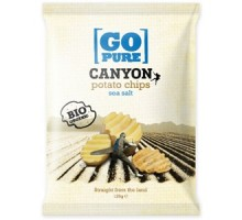 Chips di patate bio Go Pure Canyon 125g