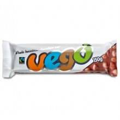 Vego barretta cioccolato con nocciole intere 150g
