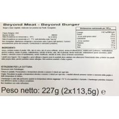 Burger vegetali My Soia