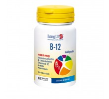 Vitamina B12 1000 mcg Longlife sublinguale 60 compresse