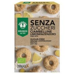 Crostatine alla nocciola Bio senza glutine (3 pezzi)