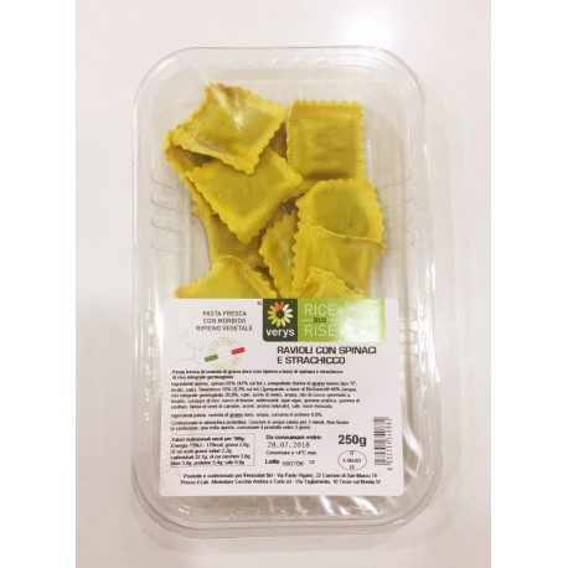 Ravioli zucchine e chicca Verys