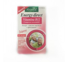 Alsiroyal Energy Direct Vitamina B12 30 compresse orosolubili  500mcg