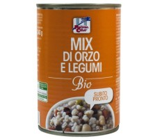 Mix di legumi e farro bio in lattina