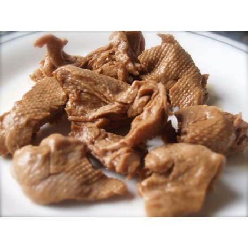 Anatra vegan affumicato allo zenzero Corn Chunk