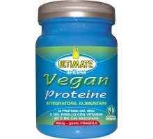 Vegan Proteine 450gr- FRAGOLA -Ultimate