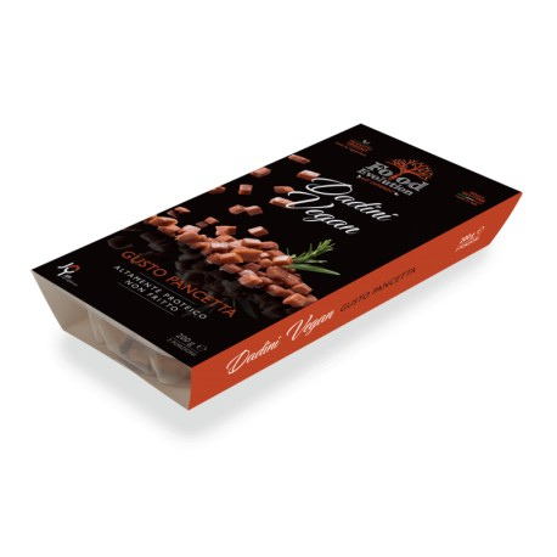 Prodotto surgelato Leggi note - DADINI pancetta Food Evolution