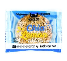 Kookie Cat biscotto con semi di chia e limone