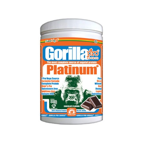 Gorilla Pro Source Platinum Cioccolato - Proteine Vegan